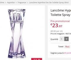 bon plan eau de toilette lancome hypnose 30ml à 19 euros bons