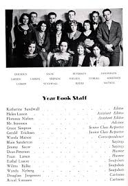find a yearbook from your class mt pleasant pioneer sanpete high school yearbook 1931