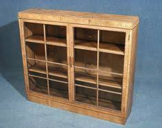 Bookcase With Lock Vintage Wooden Display Cabinet Bookcase With Glass Sliding