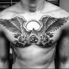wings on chest 40 wing chest designs for freedom ink ideas