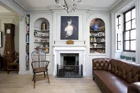 contemporary english style house interior