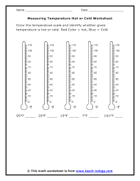 measuring temperature worksheets free worksheets library