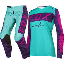 motocross gear packages fox 2017 mx new 180 purple pink seafoam jersey pants womens