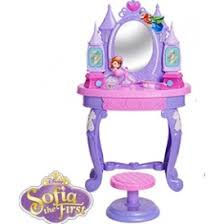 sofia the first table disney sofia the first enchanted royal vanity table stool 19 99