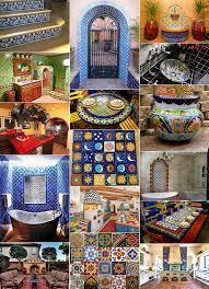Mexican Tile Bathroom Designs Talavera Tile Design Ideas 44 Top Talavera Tile Design Ideas