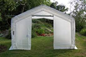 Backyard Green House by Large Backyard Greenhouse 12x20x8 Tarps Amazon Com