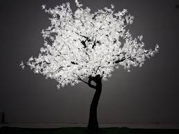 white tree with lights loving this maple tree 2 8m and pure white thinking that this