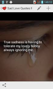 Sad Memes About Love - sad love quotes android apps on google play