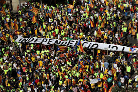around one million rally for catalan independence from spain