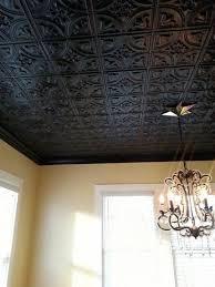 photo 3 of 7 best way to paint drop ceiling tiles 3 black decorative tin ceiling tiles chandelier home