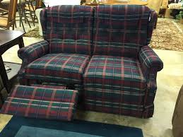 Home Decor Consignment by Plaid Lazy Boy Loveseat 195 Forsale Mk Consignment Loveseat