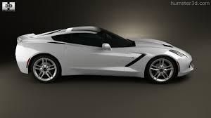 2011 stingray corvette 360 view of chevrolet corvette stingray c7 coupe 2014 3d model
