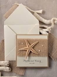 starfish wedding invitations 71 best wedding invitations images on wedding