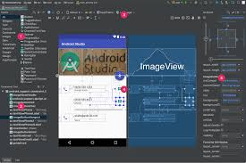 android stuido build a ui with layout editor android studio