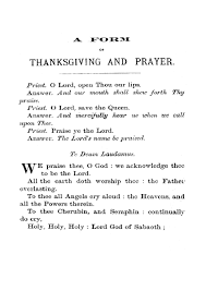 thanksgiving prayer to god almighty best images collections hd