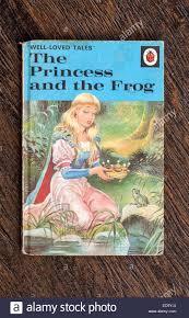 ladybird book princess frog stock photo royalty
