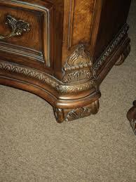 six piece vintage drexel heritage bedroom set talavera collection