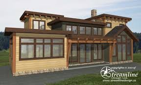 6 new log home and timber frame floor plans streamline design
