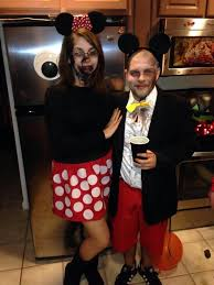 Halloween Mickey Mouse Costume Mickey Minnie Mouse Zombie Costumes Diy Halloween