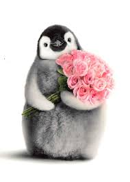 8 best penguin valentines images on penguins plush