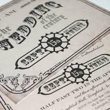 steampunk wedding invitations broprahshow