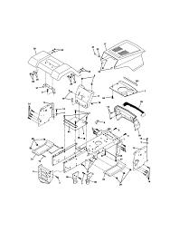 craftsman lawn tractor parts model 917270514 sears partsdirect
