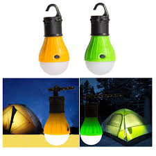 cool outdoor gadgets special hanging 3 led camping tent light bulb fishing lantern