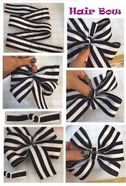 how do you make hair bows big hair bow start with 1 yard of 1 5 ribbon cut 31 and