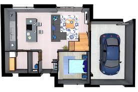 plan de maison gratuit 3 chambres plan maison 85m2 3 chambres gratuit plan n 36 univia