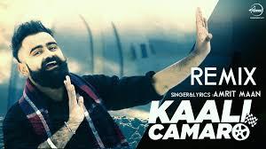 camaro song kaali camaro remix amrit maan feat jandu punjabi songs