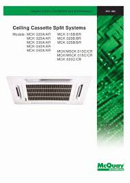 mcquay air conditioning manual