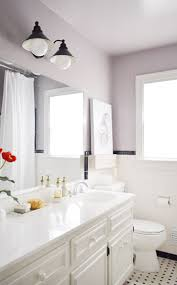 Purple And Grey Bathroom Painting The Bathroom Young House Love