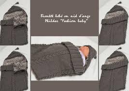 nid d ange pour siege auto modèle tricot nid d ange pour siege auto bebe tricot
