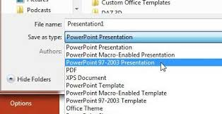 how to save as ppt by default in powerpoint 2013 solve your tech