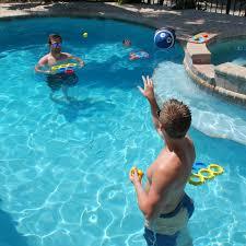 oasispoolpros water sports itza floaty pong backyard and water