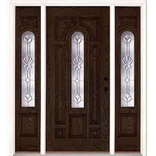 Exterior Door Units Midcentury Front Doors Exterior Doors The Home Depot