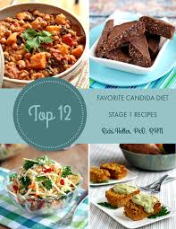 candida diet stage 1 digital cookbook