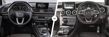 audi suv q7 interior mercedes glc vs audi q5 suv comparison carwow