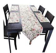 table runner placemat set ikea style home decor flowers jacquard tablecloth table runner