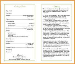 program for funeral service 8 how to write funeral service program pandora squared