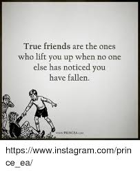 True Friend Meme - true friends are the ones who lift you up when no one else has