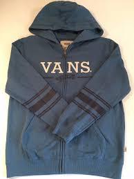vans zip up hoodie vans classic crew sweatshirt black frost