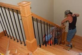 ringhiera in legno per giardino materiali ringhiere interne scale e ascensori materiali per