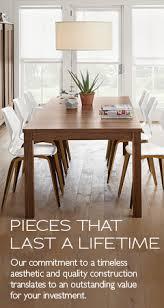 30 X 60 Dining Table Modern Dining Tables Modern Dining Room Furniture Room U0026 Board