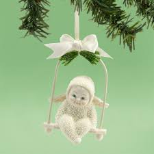 snowbabies ornaments heavenly swing ornament 4031885