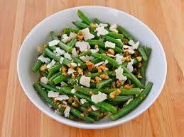 green bean salad with walnuts parmesan and mint tori avey