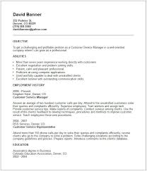 an example of a good resume example of a chronological resume