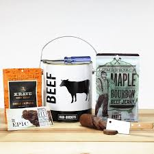 beef gift baskets manbuckets beef gift basket walmart