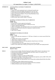 best resume format 2015 dock warehouse handler resume sles velvet jobs