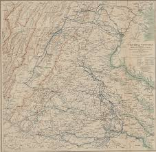 Map Of Central Virginia by Central Virginia Showing Lieut Gen U S Grant U0027s Campaign And